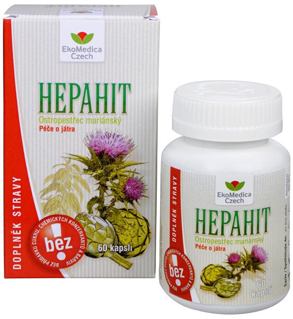 Zobrazit detail výrobku EkoMedica Czech Hepahit 60 kapslí