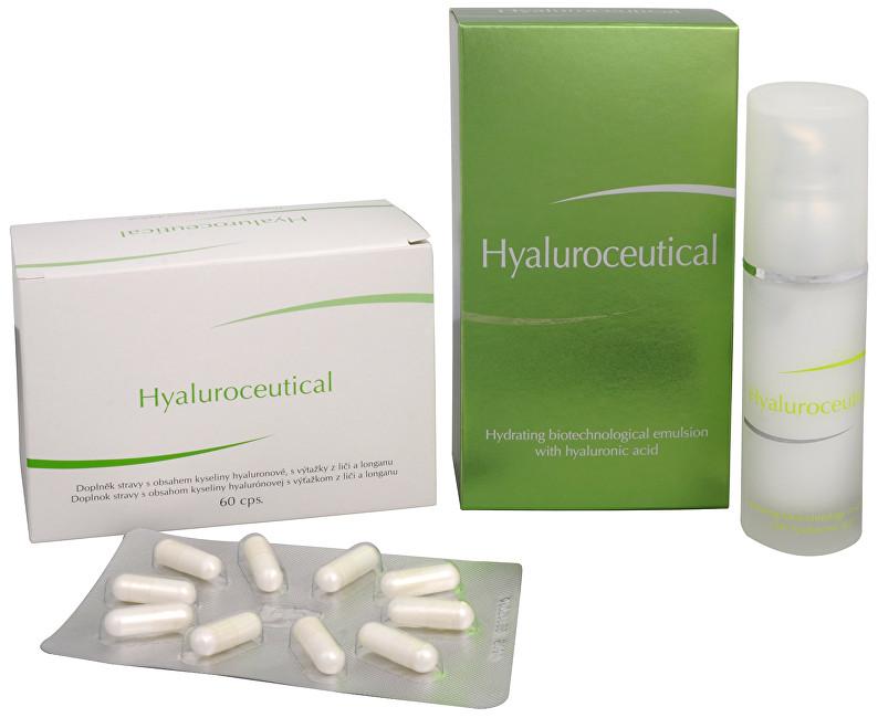 Zobrazit detail výrobku Herb Pharma Hyaluroceutical - hydratační biotechnologická emulze 30 ml + Hyaluroceutical 60 kapslí ZDARMA