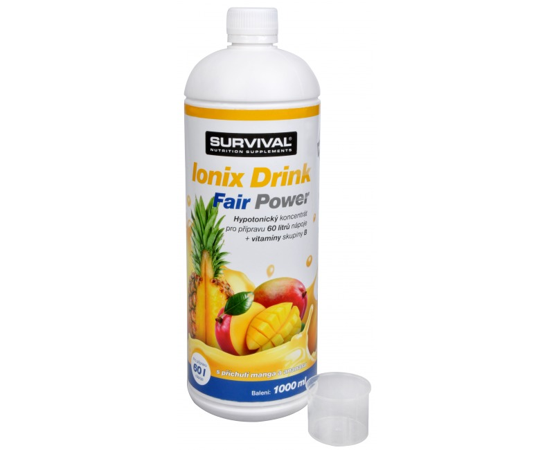 Zobrazit detail výrobku Survival Ionix Drink Fair Power 1000 ml Ionix Drink Fair Power Ananas + Mango