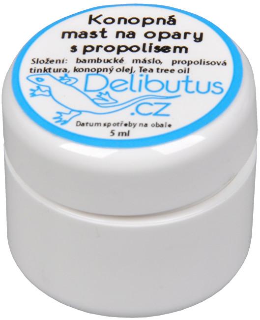 Zobrazit detail výrobku Delibutus Konopná mast na opary s propolisem 4 ml