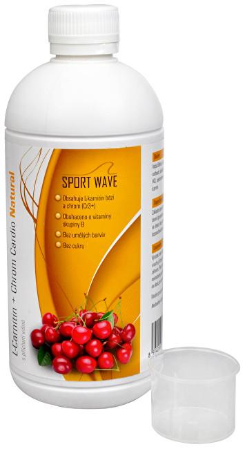L-Carnitin + Chrom Cardio Natural s příchutí višně 500 ml