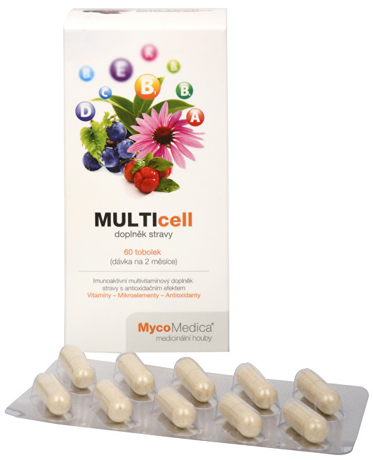 MycoMedica MULTICELL 60 tob.