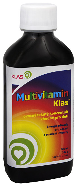 Klas Multivitamín 200 ml