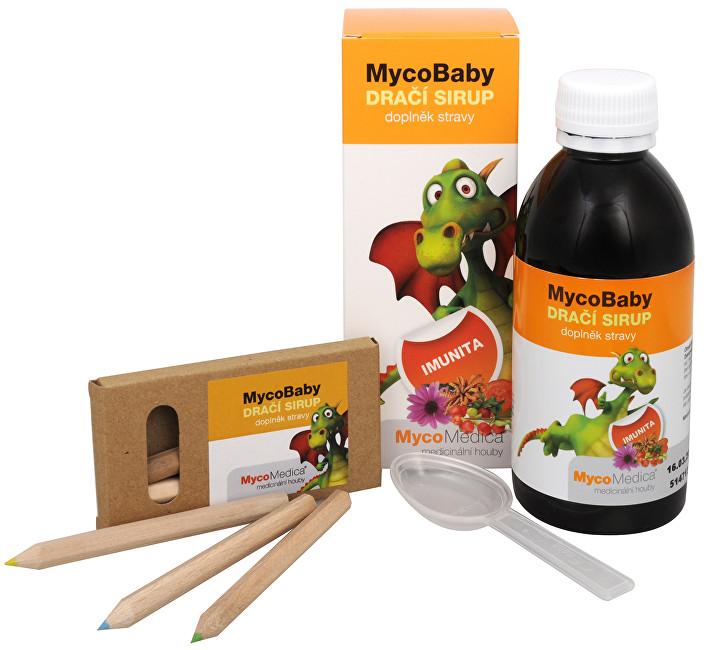 Zobrazit detail výrobku MycoMedica MycoBaby dračí sirup 200 ml + pastelky ZDARMA