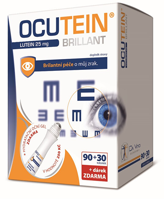 Zobrazit detail výrobku Simply You Ocutein Brillant Lutein 25 mg 90 tob. + 30 tob. ZDARMA + dárek