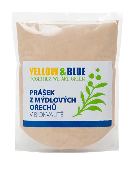 Yellow & Blue Prášek z mýdlových ořechů v bio kvalitě PE sáček 0,5 kg