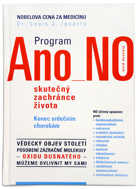 Zobrazit detail výrobku Knihy Program Ano NO (Dr. Luis J. Ignarro)