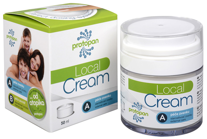 Fotografie Protopan® Local Cream - promašťovací krém 50 ml