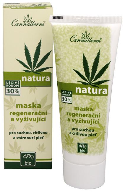 Fotografie Cannaderm Regenerační a vyživujicí maska Natura 75 g