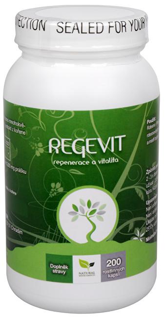 Zobrazit detail výrobku Natural Medicaments Regevit 200 kapslí