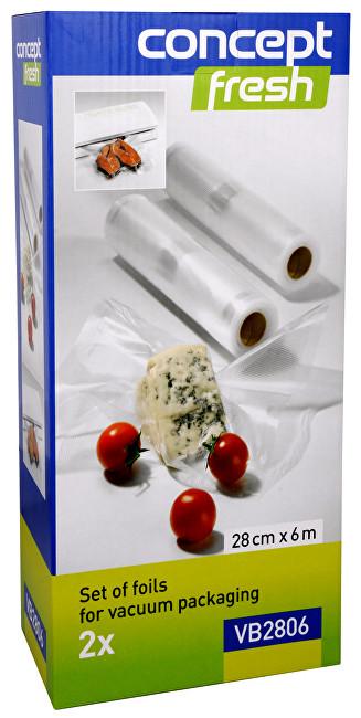 Zobrazit detail výrobku Concept Sada fólií pro vakuové balení 28 cm x 6 m VB-2806