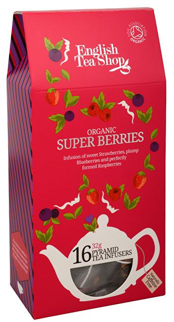 Zobrazit detail výrobku English Tea Shop Super ovocný čaj Rooibos a červené ovoce 16 pyramidek