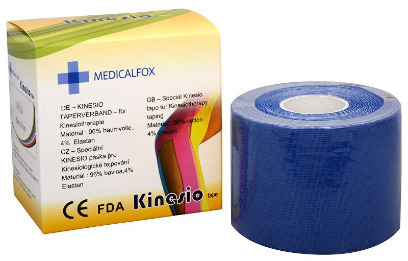 Zobrazit detail výrobku Medicalfox Tejpovací páska Kinezio 5 cm x 5 m Modrá