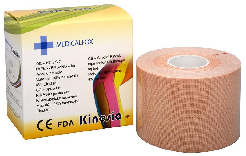 Zobrazit detail výrobku Medicalfox Tejpovací páska Kinezio 5 cm x 5 m Béžová (natural)