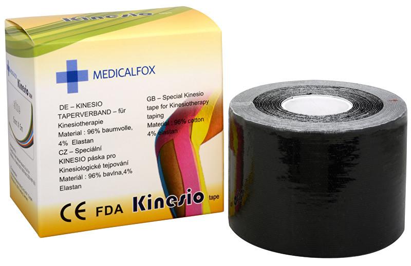 Zobrazit detail výrobku Medicalfox Tejpovací páska Kinezio 5 cm x 5 m Černá