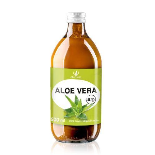 Zobrazit detail výrobku Allnature Aloe Vera - 100% Bio šťáva 500 ml