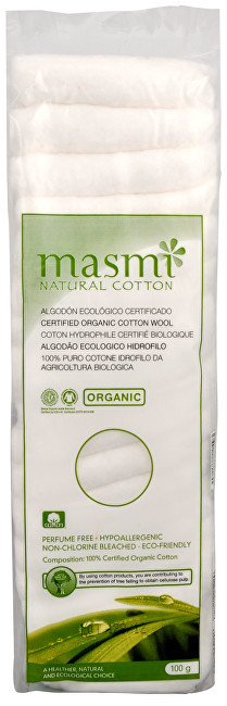 Zobrazit detail výrobku Blue Step Vata z organické bavlny MASMI 100 g