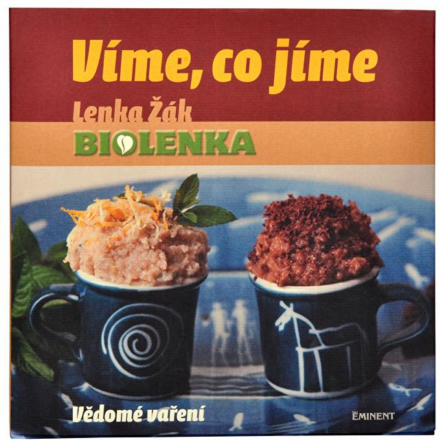 Zobrazit detail výrobku Knihy Víme, co jíme - Vědomé vaření (Lenka Žák)