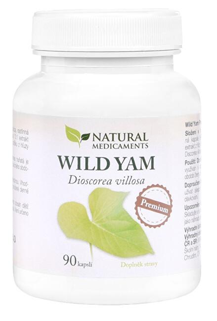 Zobrazit detail výrobku Natural Medicaments Wild Yam Premium 90 kapslí
