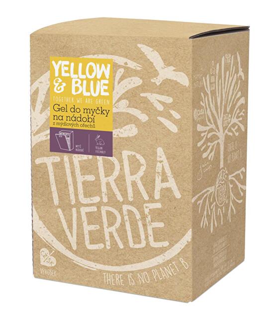 Zobrazit detail výrobku Yellow & Blue Gel do myčky na nádobí z mýdlových ořechů 5 l