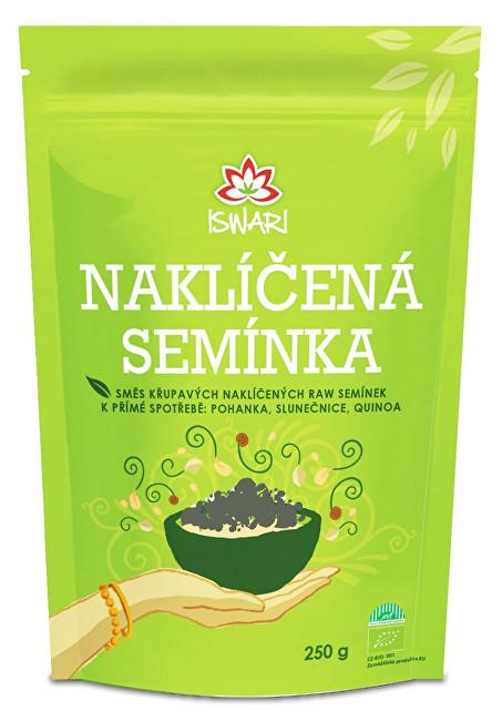 Iswari Bio Směs naklíčených semínek pohanka - slunečnice - quinoa 250 g