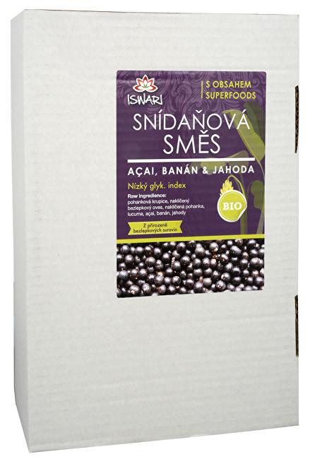 Zobrazit detail výrobku Iswari BIO Snídaňová směs Acai, jahoda, banán 3,2 kg