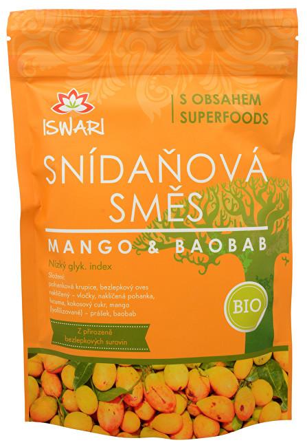 Zobrazit detail výrobku Iswari BIO Snídaňová směs Mango-Baobab 360 g