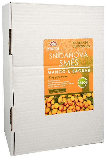 Zobrazit detail výrobku Iswari BIO Snídaňová směs Mango-Baobab 3,2 kg
