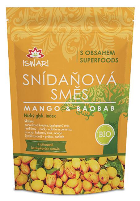 Zobrazit detail výrobku Iswari BIO Snídaňová směs Mango-Baobab 300 g