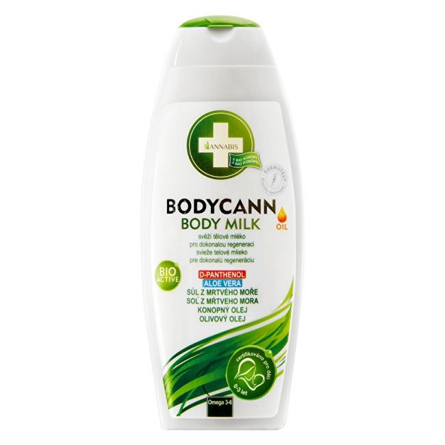 Annabis Bodycann přírodní tělové mléko 250 ml