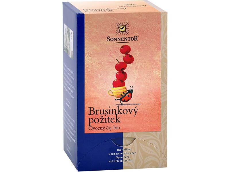 Zobrazit detail výrobku Sonnentor Bio Brusinkový požitek čaj porc. dvoukomorový 50,4g (18sáčků)