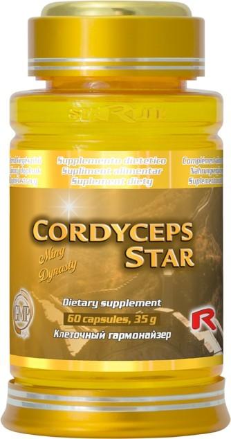 Zobrazit detail výrobku Starlife CORDYCEPS STAR 60 kapslí