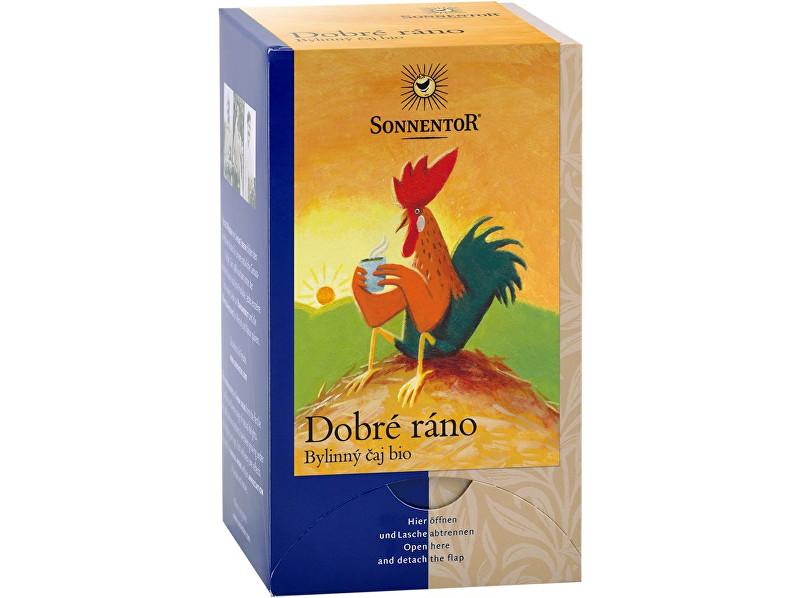 Zobrazit detail výrobku Sonnentor Bio Dobré ráno - bylinný čaj porc. 27g (18sáčků)