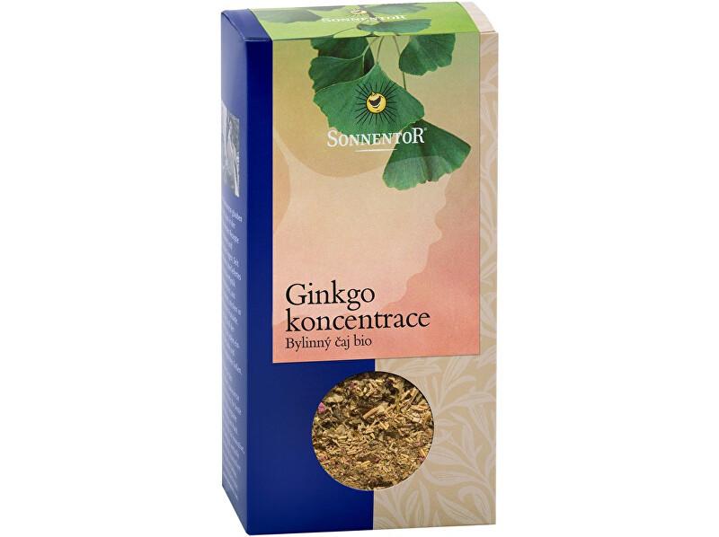 Zobrazit detail výrobku Sonnentor Bio Ginkgo - koncentrace, zelený čaj syp. s bylinkami 50g
