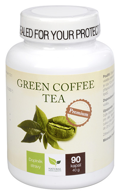 Zobrazit detail výrobku Natural Medicaments Green Coffee Tea 90 kapslí