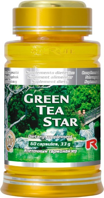 STARLIFE GREEN TEA STAR 60 kapslí