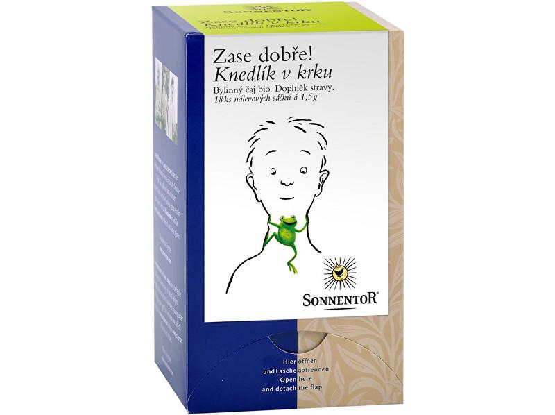 Zobrazit detail výrobku Sonnentor Bio Knedlík v krku - bylinný porc.čaj dvoukomorový 27g