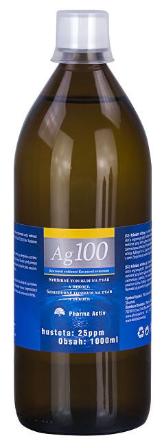 Pharma Activ Koloidní stříbro Ag100 (25ppm) 1000 ml