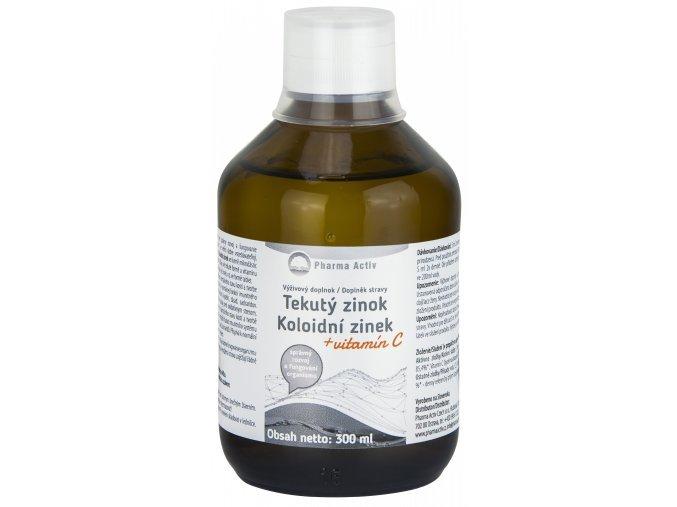 Koloidní zinek + vitamín C liquid 300 ml