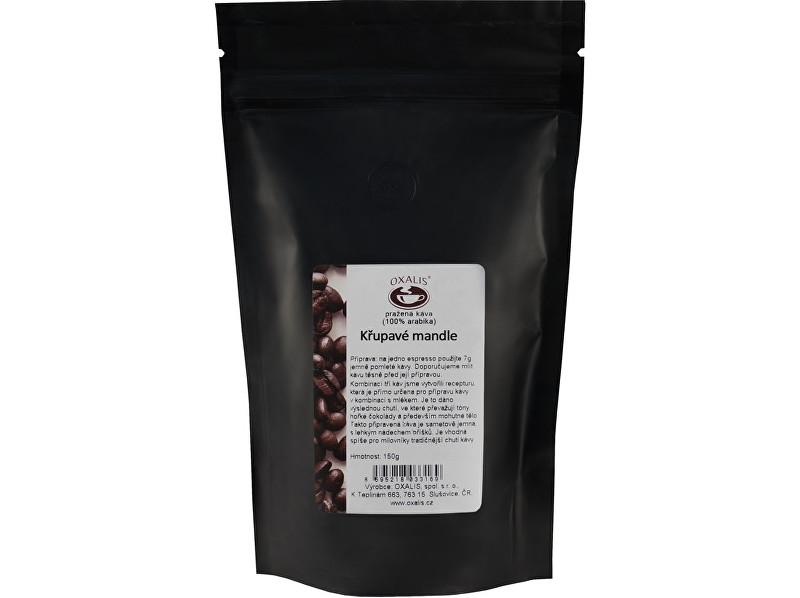 Křupavé mandle 150 g - mletá káva