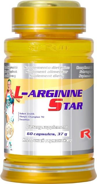 Zobrazit detail výrobku STARLIFE L-ARGININE STAR 60 kapslí