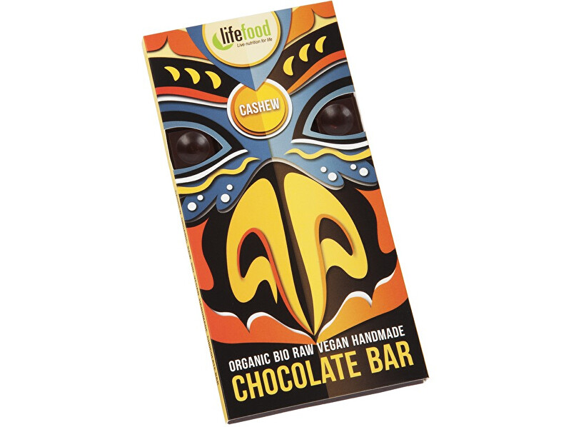 Lifefood Bio Lifefood Chocolate s kousky kešu ořechy 70g