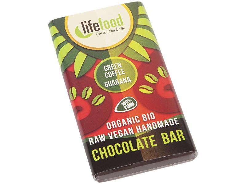 Zobrazit detail výrobku Lifefood Bio Lifefood mini čokoládka se zelenou kávou a guaranou 15g