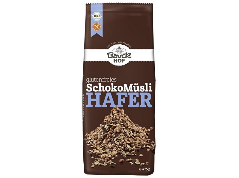 Bauck hof Bio Musli ovsené čokoládové bezlepkové 425g