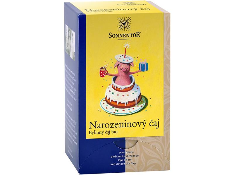 Zobrazit detail výrobku SONNENTOR Narozeninový čaj bio dvoukomorový 27 g