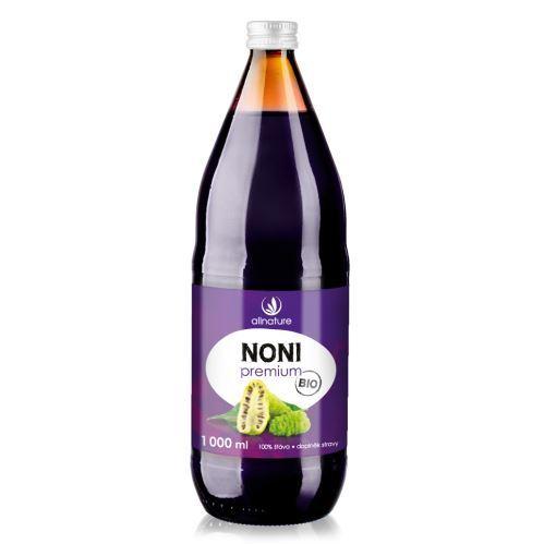 Allnature Noni Premium - 100% Bio šťava 1000 ml