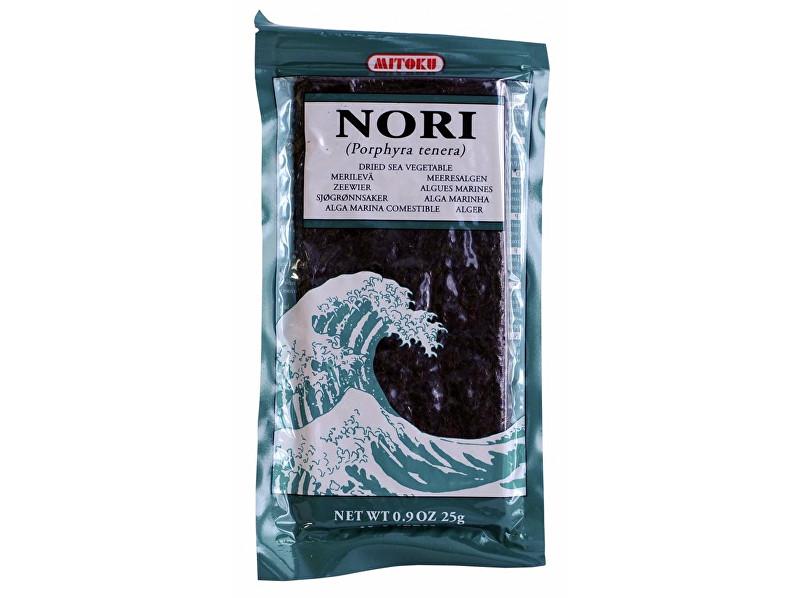 Mitoku Nori plátky mořské řasy 25 g