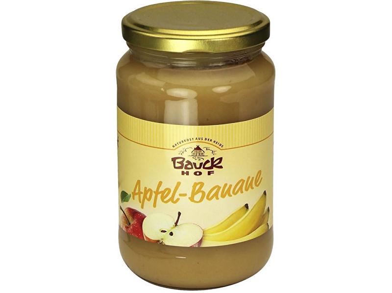 Bauck hof Bio Ovocné pyré Jablko+Banán - neslazené 360 g