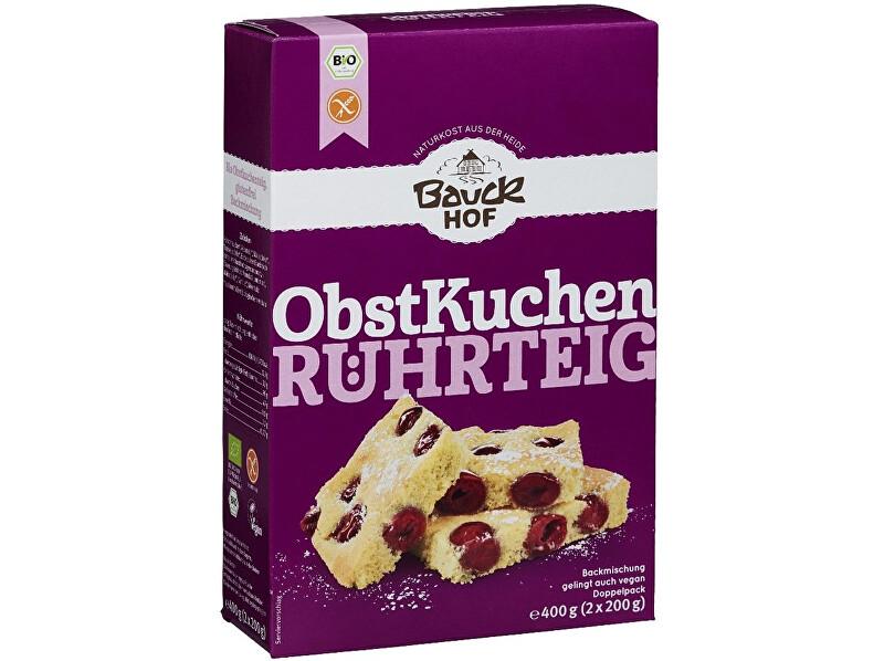 Zobrazit detail výrobku Bauck hof Bio Ovocný koláč 400 g - bezlepková směs