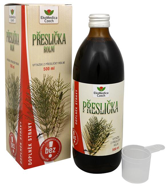 Zobrazit detail výrobku EkoMedica Czech Přeslička rolní - výtažek z přesličky 500 ml - SLEVA - bez krabičky